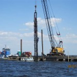 breakwater construction photos
