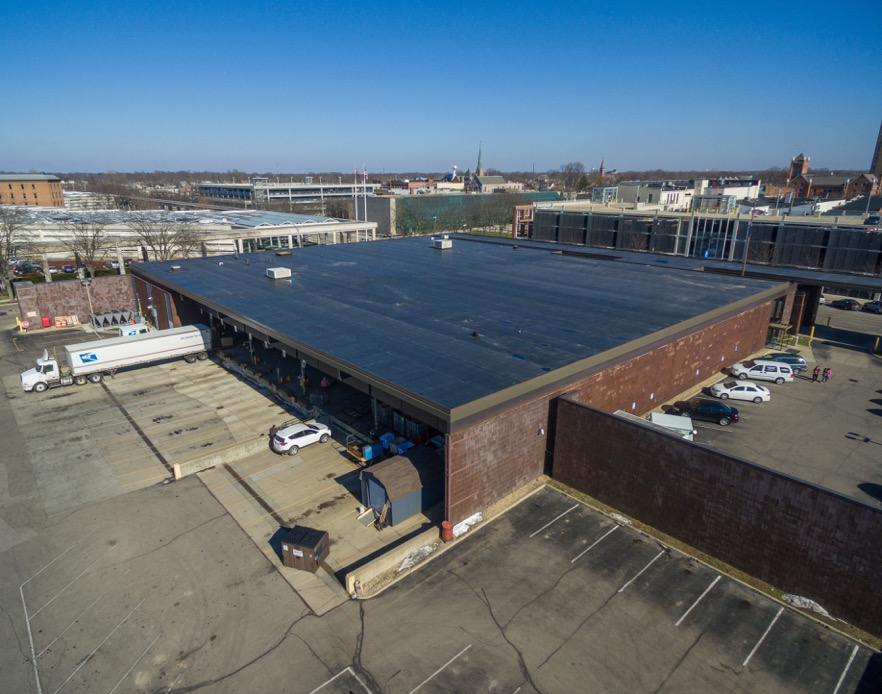 Roof Replacement Main Post Office Columbus Indiana