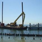 ferry docks and gangways