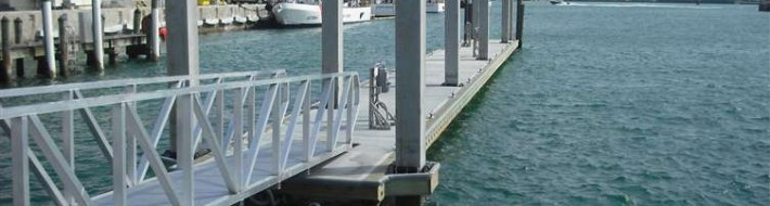 replace floating docks